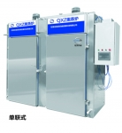 食品加工熏蒸爐單聯式/通道式QXZ1/1成都同亨包裝設備