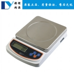 香山不锈钢厨房秤 3Kg家用平板电子食物秤 0.1g高精准烘