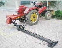 粒豪JUQ-R9割草机配套12-25马力四轮拖拉机
