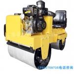回填土震动压路机小型双轮沥青压实机沟槽震动碾