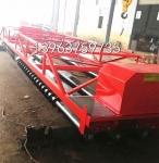 8米三轴震动梁混凝土路面摊平机
