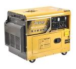 西零度6千瓦ats全自动静音柴油发电机