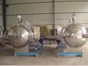 【强大机械】高温高压调理杀菌锅|双锅并联杀菌锅|品质第一