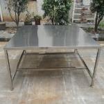 供应定制加工不锈钢正方型大型工作台无尘洁净承重强优质工作台