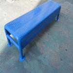 厂家供应LHRS 户外长凳 室外等候椅 铁烤漆长凳可定制不锈