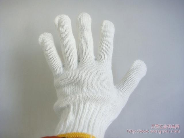 手套 劳保/此手套是加厚型手套,其中黄点胶加大加厚,背面纱也是加白加厚...