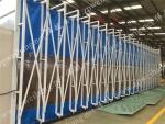 伟航涂装环保型伸缩式移动喷漆打磨房移动喷烤房环保专家专业制造