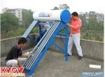 专业清除太阳能热水器内壁与真空管内的水垢