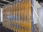 東平環保設備移動伸縮房大型汽車噴烤漆設備可加工定制