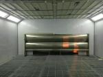 深圳环保家具烤漆房移动伸缩房活性碳箱设备伟航制造