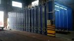河南環保移動伸縮房設備活性碳箱高溫噴漆房設備品質保證