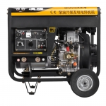 190A移動式發電電焊機