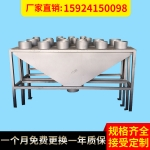 EPS配件塑机 料仓分流器 铁皮管分流器 铁皮管三通 料仓阀