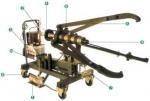 FBL-200T车载式升降液压拉马应用