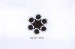 西南成都商家直销6x12圆股钢丝绳(光面和镀锌) 品质保证
