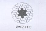 四川成都供应6xK7+FC 压实股钢丝绳(光面和镀锌)优质产