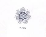 供应武钢维尔卡 钢丝绳 7-FLEX类钢丝绳 成都商家直销