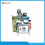 高效率無心磨床加裝桁架機器人機械手自動送料機捷眾機床設備