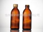 上海崇明棕色管制口服液瓶—康纳