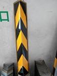 深圳反光直护角 橡胶墙角护角条 护墙角防撞条