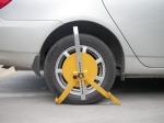 优质钢三钩车轮锁 鹏翔锁PXR-CLS3汽车防盗锁