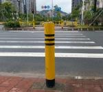 钢铁固定反光柱 路障柱 防撞护栏 铁立柱 现货实惠