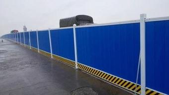 建筑施工隔离板 深圳新型围挡 钢结构围挡