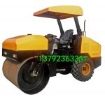 4T振动压路机 浩鸿专业品质打造座驾式柴油压实机 轮胎式压地