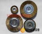 钢丝刷 杆纽碗型钢丝轮 扭丝平行钢丝轮