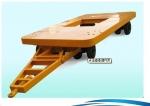 平板拖車廠家,山東中運平板拖車,平板運輸車,小型平板拖車