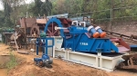 大型轮斗式洗砂机 全自动流水线筛砂洗沙脱水细沙回收一体机设备