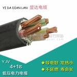 四川 翌达电缆0.6/KV YJV4芯*70平方+1芯*35