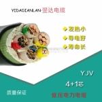翌达0.6/KV YJV4*50+1*25 四川铜芯电缆价格