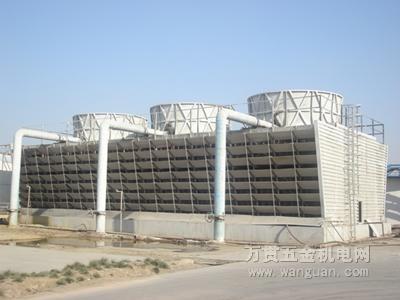 (10)进水管:冷却塔进水管见产品说明书上的图例