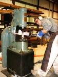 9KG鍛造空氣錘氣動錘小空氣錘系列鍛壓鍛造自由鍛設備