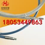 钢丝缠绕超高压清洗软管 超高压设备水射流清洗软管