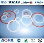 FDA食品级SIL硅胶密封圈O圈