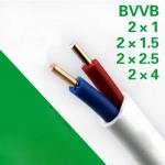 金环宇电线电缆 BVVB 2*4平方铜芯线 BV