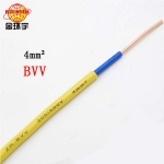 深圳市金环宇电线电缆国标BVV4平方国标铜芯双胶皮百米品质保