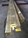 H59装饰黄铜扁条方棒 H62国标黄铜方棒