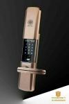 莱士顿智能锁手机APP家用防盗门锁指纹锁密码防盗锁