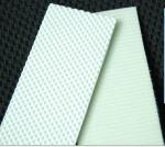 PU钻石纹传送带 食品级输送带 方格纹工业皮带