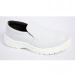 白色鋼頭防砸防穿刺防靜電安全鞋 低幫防砸防刺穿勞保鞋