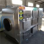 肇庆环保整改加不锈钢活性炭吸附箱30000万风量干式过滤