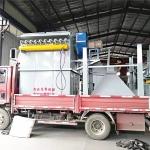 清河縣打砂機除塵設備150袋布袋除塵器一萬風量環評