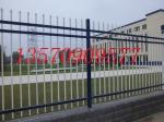 供应外墙双弯头防爬栏杆 茂名大学单位围墙锌钢护栏定制