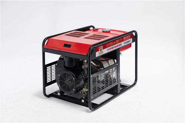 日产12千瓦汽油发电机组供应