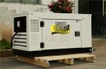 12kw静音发电机组,合资柴油发电机TO6800ET