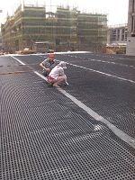 塑料防护排水板