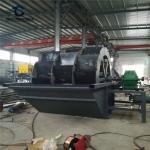 水车式石粉洗沙设备价格 沙场洗砂机械供应商